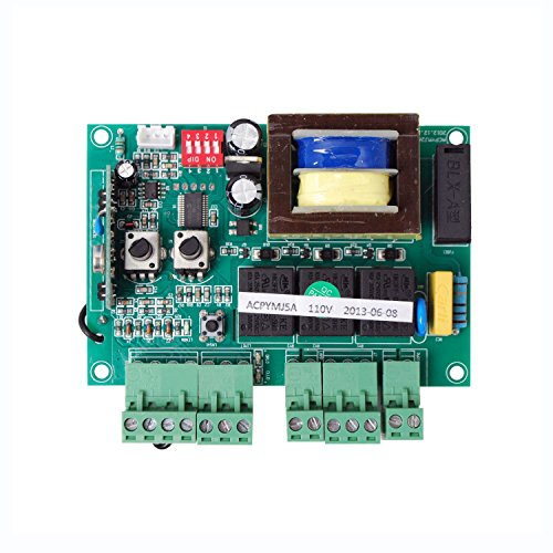 ALEKO PCBAC2400/1500 Replacement Circuit Control Board for Sliding Gate Opener AC1500 AR1550 AC2400 ()