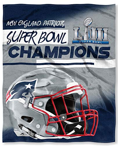 New England Patriots The Northwest Company Super Bowl 53 LIII Champions 50