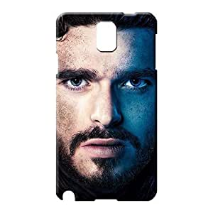 samsung note 3 Popular Slim Fit Hot New phone carrying case cover Silicone Gel Game Of Thrones Robb Stark