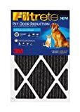 Filtrete PET02DC-4 Pet Odor Reduction Filters, 20 by 20 by 1-Inch, 4-Count, My Pet Supplies