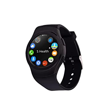 "Elements Steel Sport 1.3"" IPS Negro reloj inteligente - Relojes inteligentes (3,3"