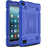 Venoro Case for All-New Amazon Fire 7 Tablet, Light Weight Shockproof Soft Silicone Defender Protective Case Cover for Amazon Kindle Fire 7 (7th Generation - 2017 Release Only) (Navy Blue)