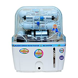 Aquafresh Swift 15 Ltr Mineral Ro+Uv+Tds Adjuster And Uf Water Purifier – White