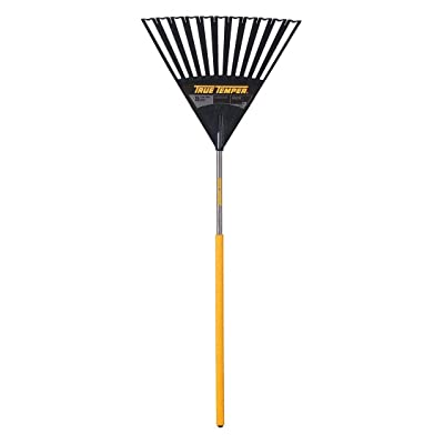 True Temper 2914912GR - Leaf Rake 24 in W Wood Handle 11 Tines Pack of 2: Home Improvement