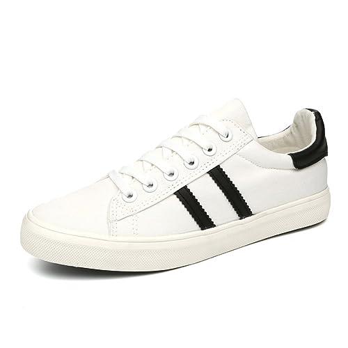 De los hombres zapatos planos en primavera/zapatos casuales/Zapatos del estudiante-B Longitud del pie=24.3CM(9.6Inch) KAbbzpa7uV