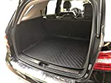 Rear Trunk Floor Cargo Cover Tray Boot Protection Dirt MUD Snow All Weather Season Waterproof Water-Resistant 3D Laser Measured Custom FIT Liner MAT for Mercedes-Benz GLE 2016 2017 2018 2019
