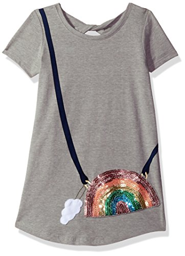 Jessica Simpson Big Girls' Katelyn Purse Tee, Mhg Rainbow Purse, Large (T-shirts Tees Simpsons)