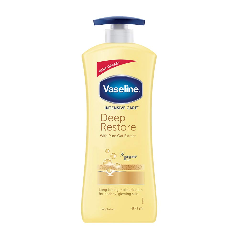 Vaseline Intensive Care Deep Restore Body Lotion, 400 ml product image