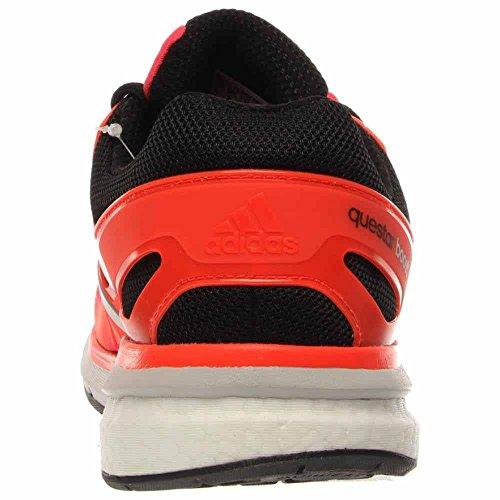 Adidas Performance Mens Questar Elite Scarpa Da Corsa Solare Rosso / Nero / Bianco / Grigio