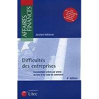 Difficultés des entreprises : Commentaire article par article du livre IV du Code de commerce (ancienne édition)