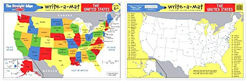 USA Learning Mat and Foam USA Map (Foam Map Usa)