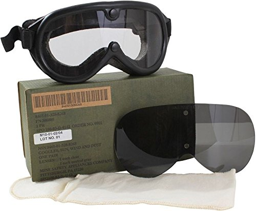 Goggles G.I. Military Issue Ballistic Shaterproof Lenses Sun,Wind & - Army Aviator Issue Sunglasses