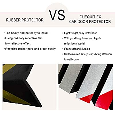 GUEQUITLEX Garage Wall Protector Foam Wall Corner Guard for Parking Garages - Wall Edge Protector Protect Your Car - Garage Wall - Wall Corner Edge and Bumpers Corner Guards: Automotive