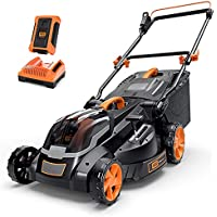 Deals on Tacklife 40V Cordless 16-inch Lawn Mower