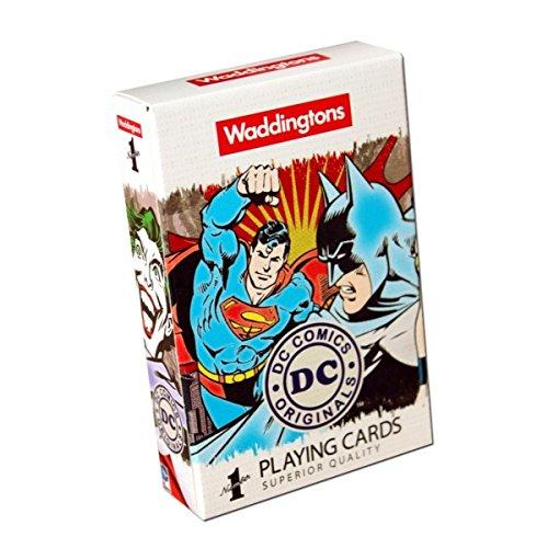 Waddingtons Number 1 DC Comics Retro Playing -