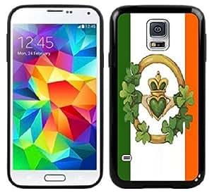Irish Claddagh Flag Handmade Samsung Galaxy S5 Black Case