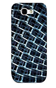 Fractal Light Case Compatible With Galaxy Note 2/ Hot Protection Case(best Gift Choice For Lovers)
