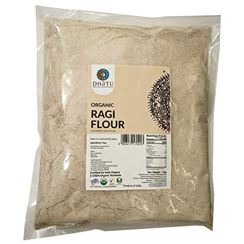 Dhatu Organic Ragi Flour, 1 Kg