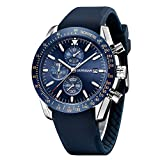 BERSIGAR Men's Business Casual Chronograph Waterproof Quartz Wristwatch