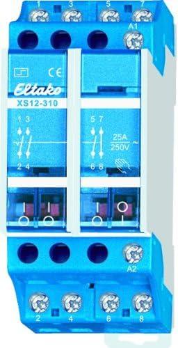 Telerruptor 1 contacto abierto+1nc 25a//250vca Eltako xs12-110