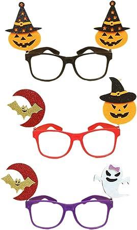Amosfun 3 Piezas Gafas Divertidas Gafas de Sol de Fiesta anteojos ...