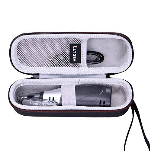 LTGEM Hard Travel Case for Panasonic Nose Hair Trimmer and Ear Hair Trimmer ER430K, Vacuum Cleaning System Men's