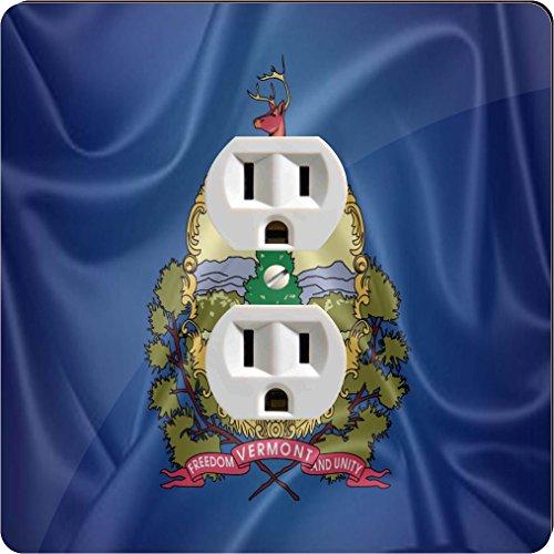 Rikki Knight 2718 Outlet Vermont State Flag Design Outlet - Vermont Outlet Burlington