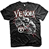 Venom T Shirt Venom Official Marvel Comics Mens Black