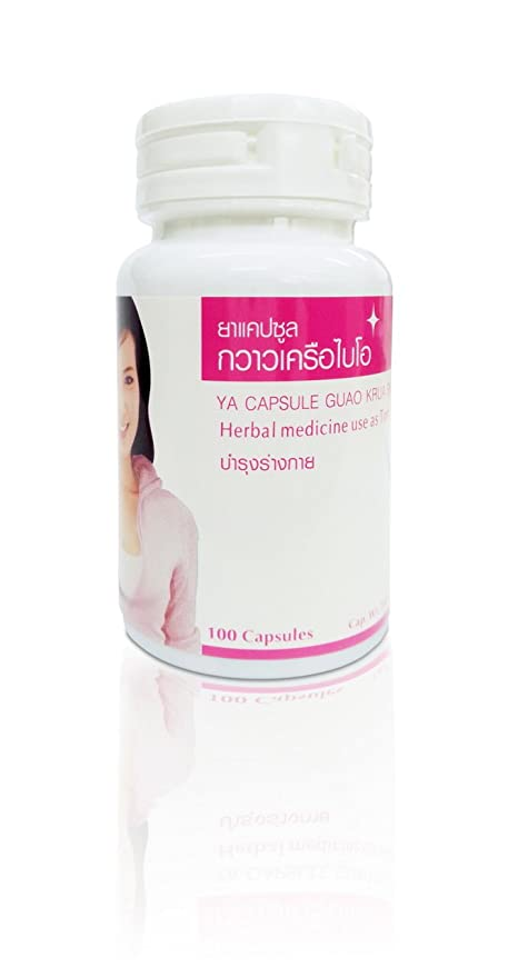 100 Pills Natural Pueraria Mirifica Bio  By Yanhee Hospital