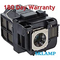 Sklamp ELP-LP75 / V13H010L75 Replacement Lmap Bulb with Housing for Epson Powerlite 1940W 1945W 1950 1960 Projectors