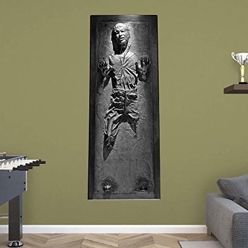 sc 1 st  Man Cave Furniture & Fathead Star Wars Han Solo In Carbonite Wall Decal -