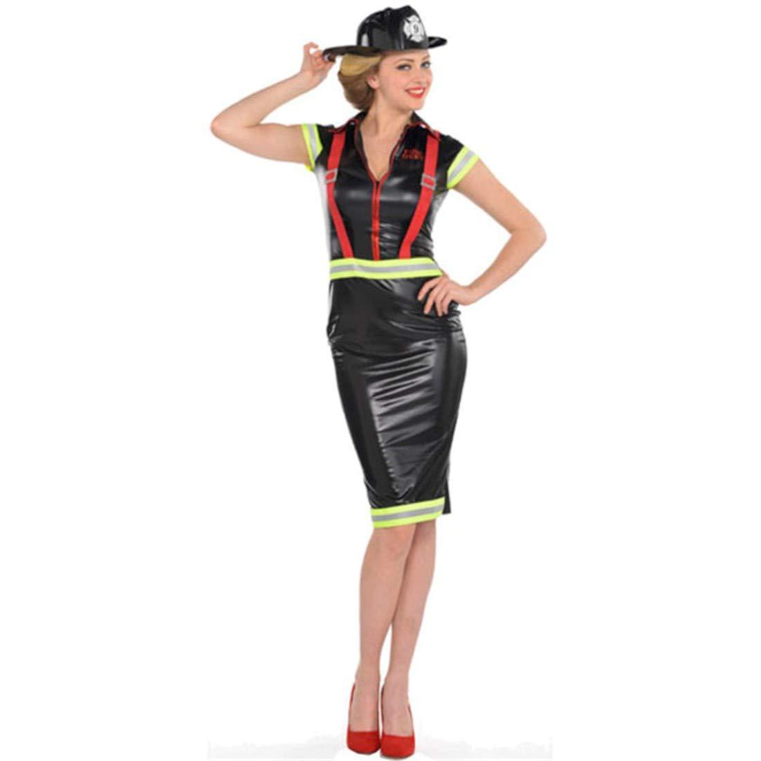 Nuevo para mujer Pin Up Fire Girl Ladies Disfraz infantil de ...