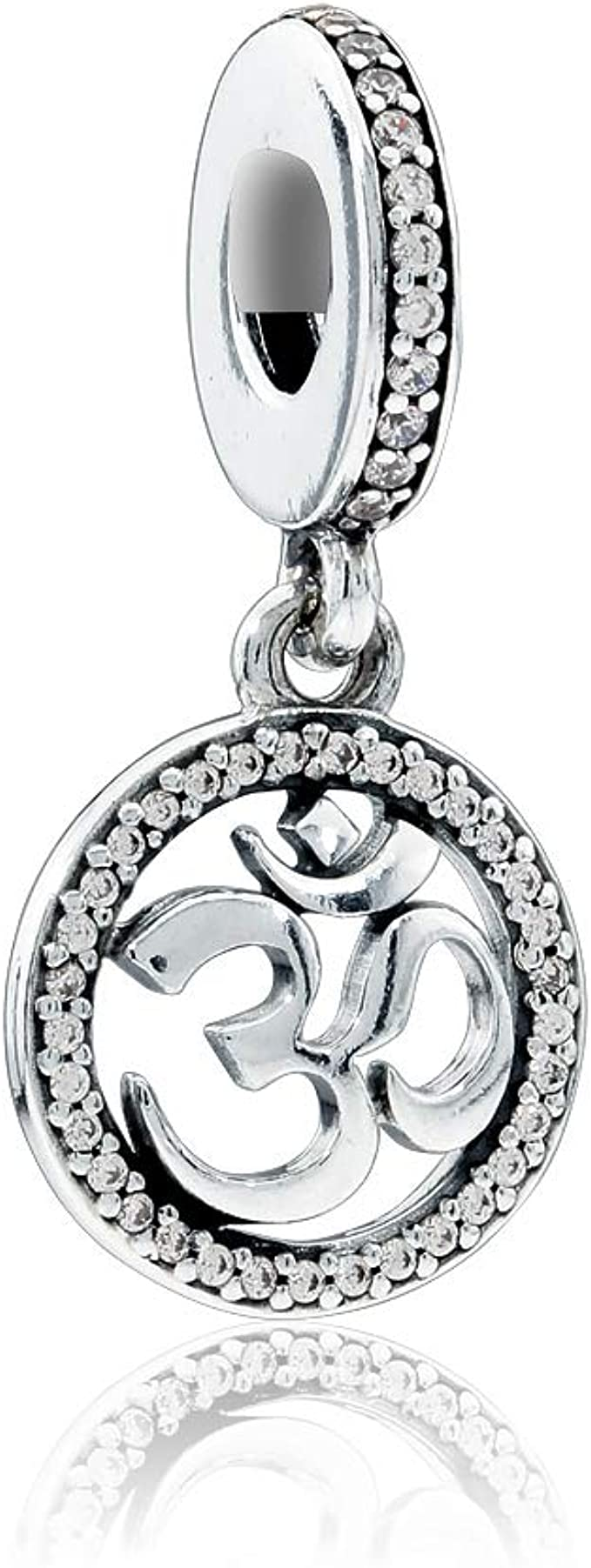 Pandora Om Symbol Dangle Charm 797584CZ: Amazon.es: Ropa y accesorios