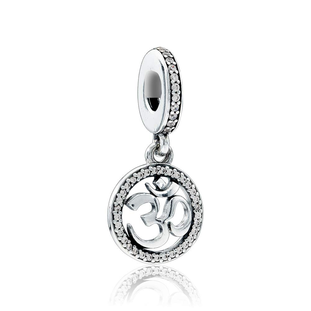 Pandora Om Symbol Dangle Charm 797584CZ
