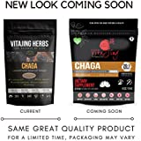 Chaga Mushroom Extract Powder (4oz-114gm) | 20:1 Concentration (No Fillers or Additives. Vegan, Wildcrafted, GMO Free, Gluten Free, Dairy Free, Nut Free)