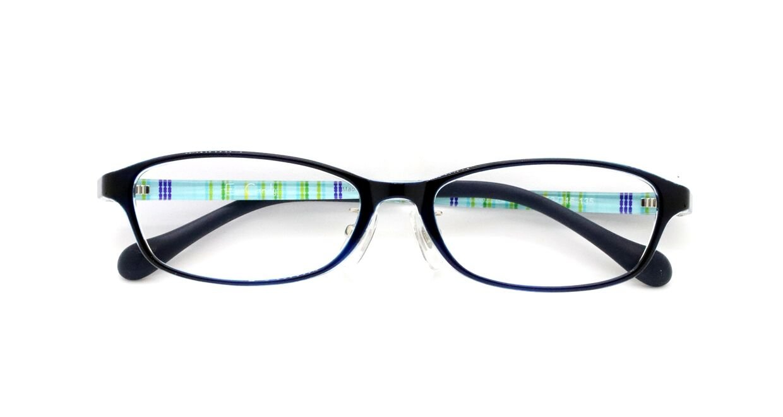ザ サプリメガネ PCメガネ ブルーライト94% カット 紫外線ほぼ100%カット 度なし(調節補助機能付き) (ダークブルー/サファイア) TR-9206  ダークブルー/サファイア B07HY26K7Y