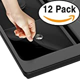 stainless steel range drip pans - Stove Burner Cover for Gas Range Stovetops [FREE 2+STOVETOP LINER PROTECTOR] from Frank's Cooking Aid Splah Guard 0.2mm Double Thickness, Reusable, Non-Stick, Dishwasher Safe