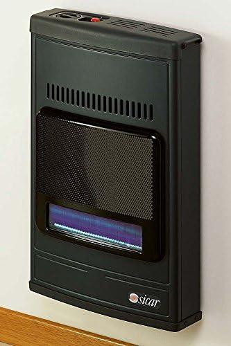 Estufa a Gas Metano infrarrojos Sicar 4200 W a gas + ventilador de ...