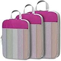 3-Pieces Veckle Compression Packing Cubes
