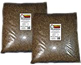 22 Lbs Tasty Worms Bulk Freeze Dried Mealworms Approx. 352,000ct
