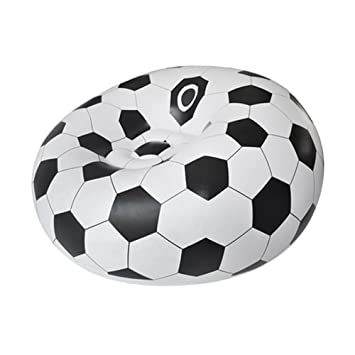 lzndeal sillón hinchable - Silla de balón de fútbol/de balón de ...