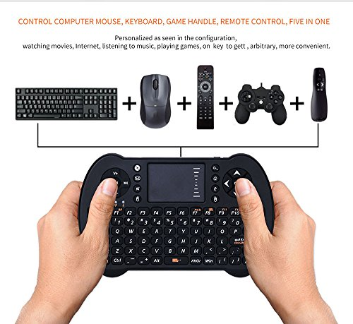 Handheld Touchpad Keyboard,Promisen® New 2.4G Wireless Keyboard Mouse for PC Android TV X-BOX