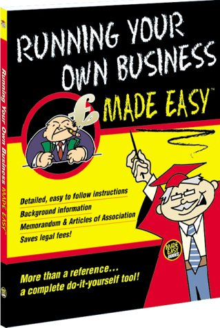 Running Your Own Business Made Easy Roy Hedges