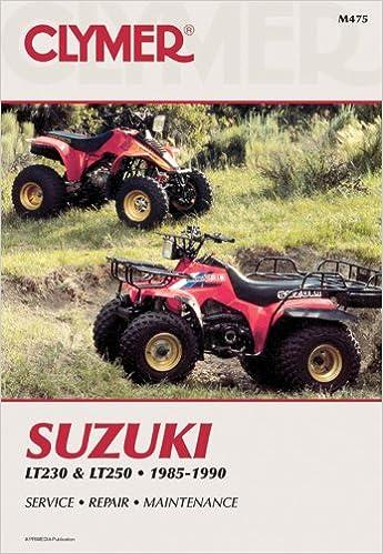 suzuki lt230 lt250 85 90 penton staff 9780892876082 amazon com