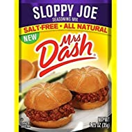 Mrs. Dash Sloppy Joe Seasoning Mix, 1.25 oz - 6 packages