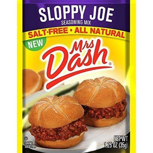 Mrs. Dash Sloppy Joe Seasoning Mix, 1.25 oz - 6 packages
