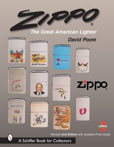 Zippo: The Great American Lighter (Schiffer Book for (Zippo Stack)
