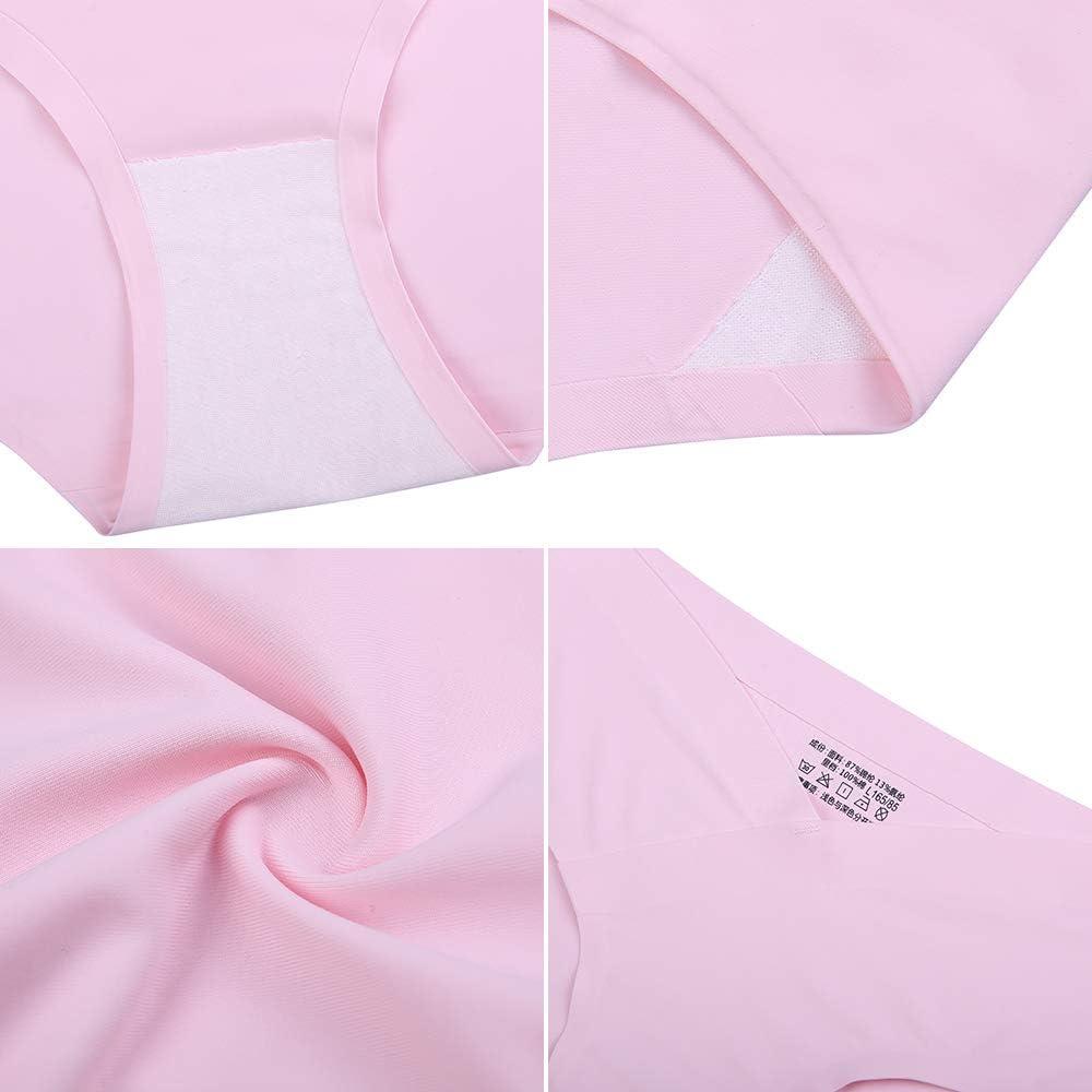 Kasebay Culottes Femme Maternit/é sans Couture Slips Soie Glac/ée sous-v/êtements Enceinte Bas Shorties Coton Extensible Respirant Lot de 4