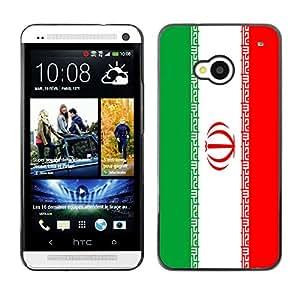 - Flag - - Cubierta de piel de aluminio de pl¨¢stico duro de nuevo caso de protecci¨®n FOR HTC One M7 Queen Pattern