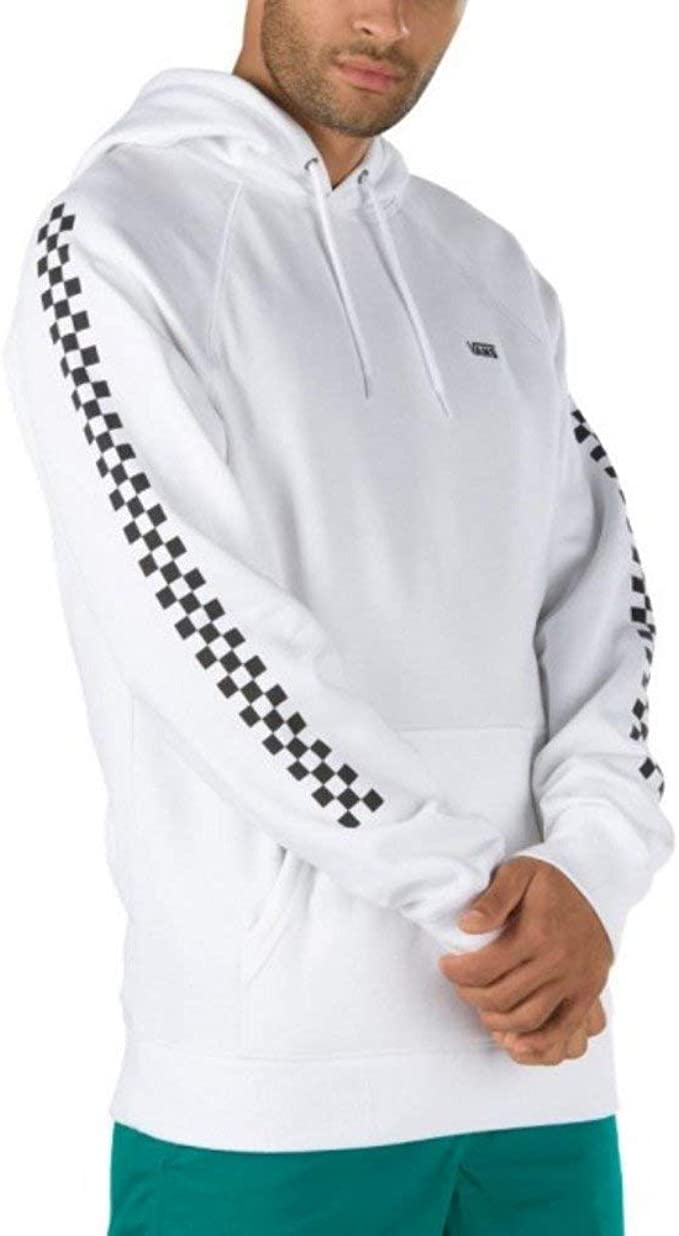 Vans Sweats À Capuche Versa Checkerboard Blanc XS (X Small